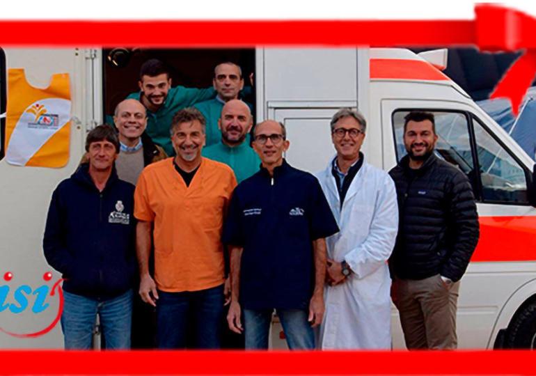 A Natale dona un'ambulanza per le emergenze a Fondazione ANDI