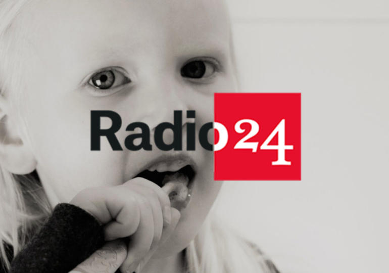 """Radio24: """"I tre moschettieri della salute della bocca"""""""