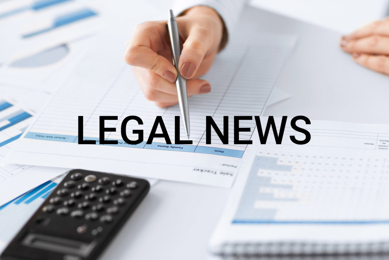 Legal news – 08 Maggio