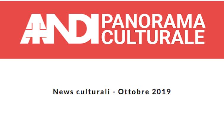 News culturali - Ottobre 2019