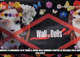 DOMENICA 24 NOVEMBRE: ROMPERE IL MURO DELL'INDIFFERENZA CON LA FONDAZIONE ANDI ONLUS E THE WALL OF DOLLS